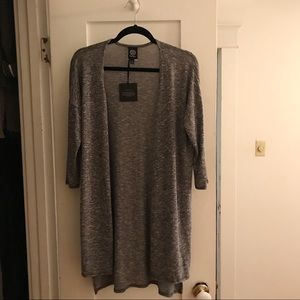 Bobeau Short Sleeve Cardigan